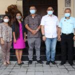 Audensi Pengurus DPC PERADI Denpasar dengan Flobamora Bali